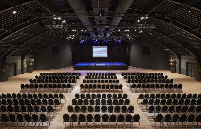Theateropstelling Evenementenhal Texel