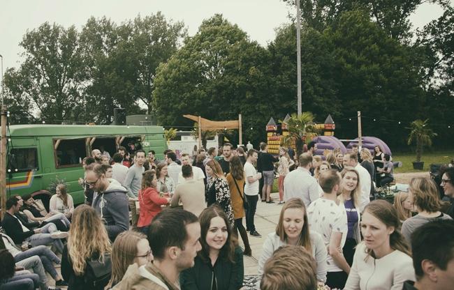 Bedrijfsfestival in Tuinen van West