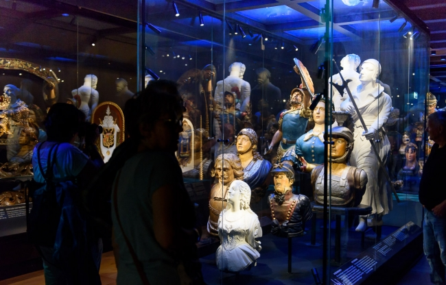 Monique de Winter over de BankGiro Loterij Open Dagen in Het Scheepvaartmuseum