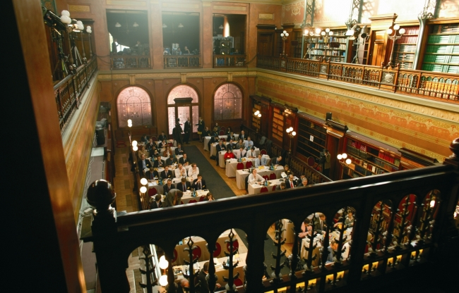 Bibliotheek Solvay: locatie voor exclusieve meetings en netwerkbijeenkomsten