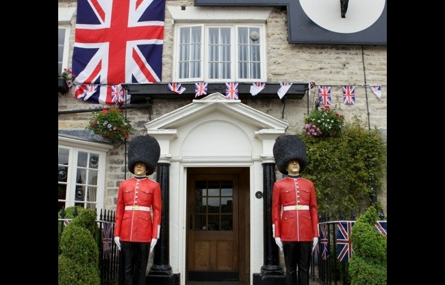 Engelse decoratie