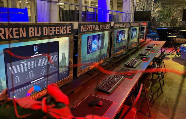 Urban Events levert games voor slimme werving & selectie methode van Defensie