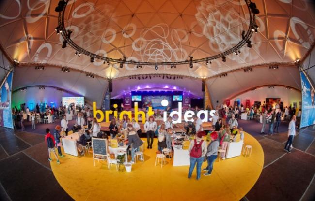 De Superdome van Domes Europe is voor vele doeleinden in te zetten