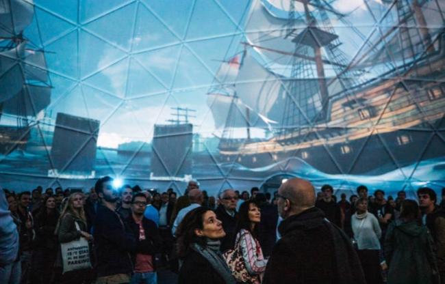 De domes van Domes Europe zijn zeer geschikt voor projectie