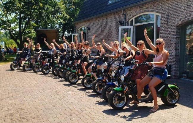 E-chopper huren? Evenementenbureau SPEV/Noordwijk-Events!