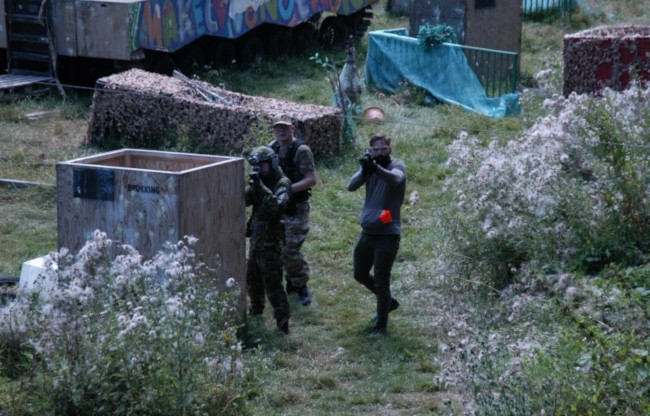 Paintball Jungle in action