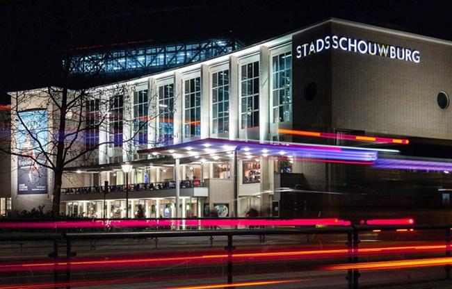Stadsschouwburg Utrecht by night