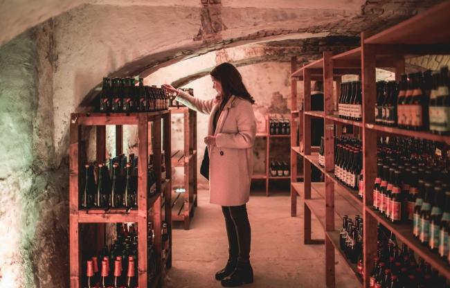 Smaakbibliotheek met meer dan 100 verschillende bieren uit de hele wereld