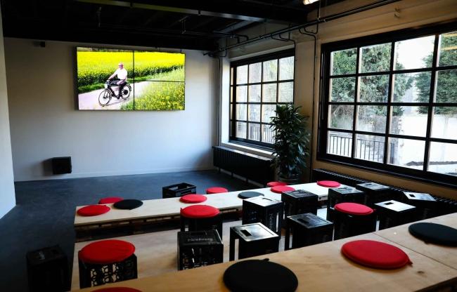 Biertheater, presentatieruimte voor 60 personen