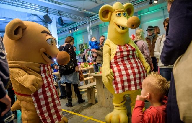 Familiefestival als invulling van de open dag na de verbouwing bij The Greenery