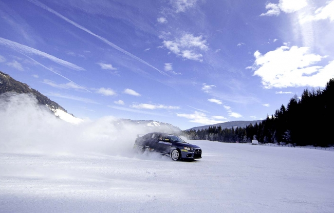 Driving experience on ice