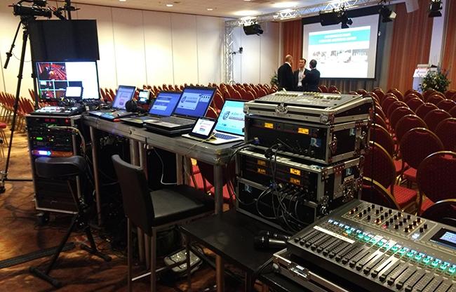 Alles onder controle met Live Media Facilities