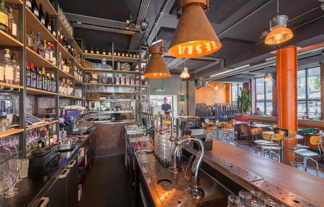 Borrel, lunch of diner in het Grandcafé