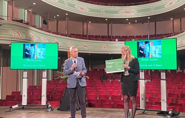 Presentatoren Jan Paul Ottervanger en Elke Stenvers