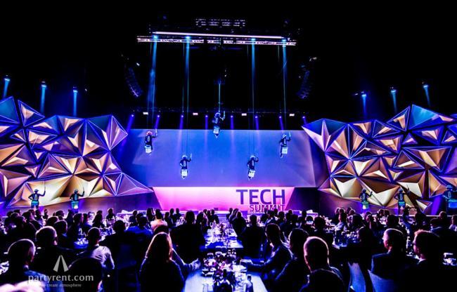 Achter de schermen bij Party Rent tijdens Technology Summit