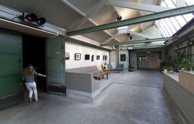 De entree van De Gelderlandfabriek