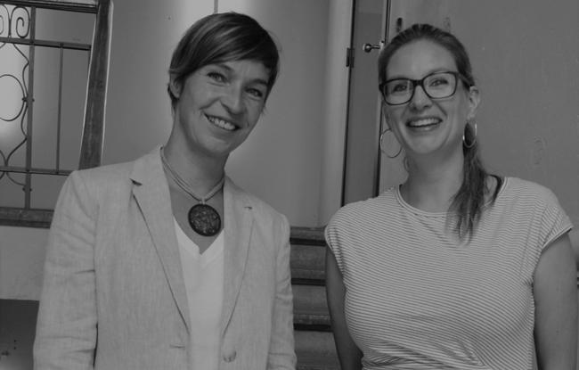 Saskia Holterman en Erica van Lieshout
