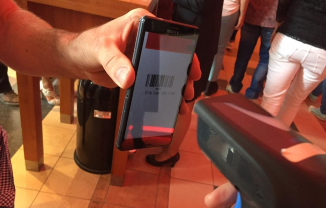 E-ticket per mobiel