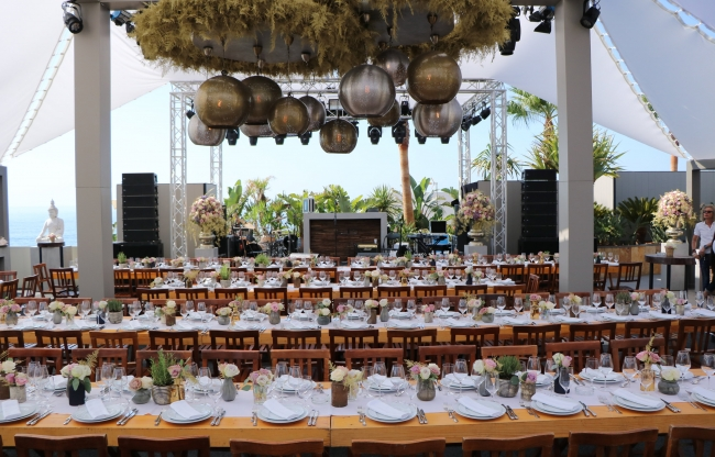 vanderLOO catering decor events - Event buitenland