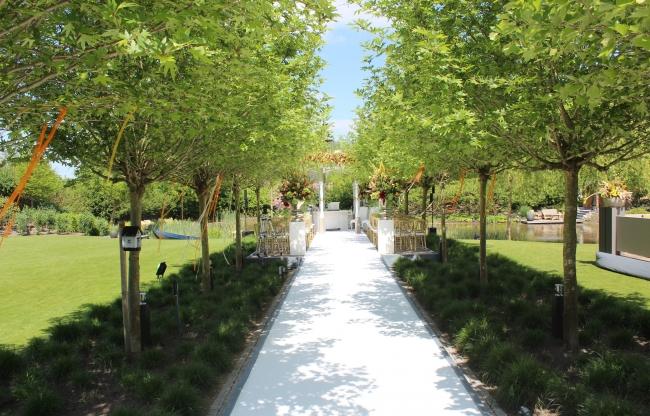 vanderLOO catering decor events - Huwelijk in tuin