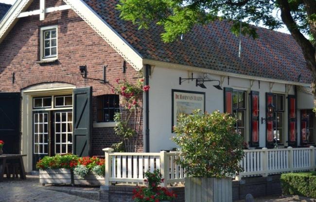 Gevel restaurant De Haven van Huizen