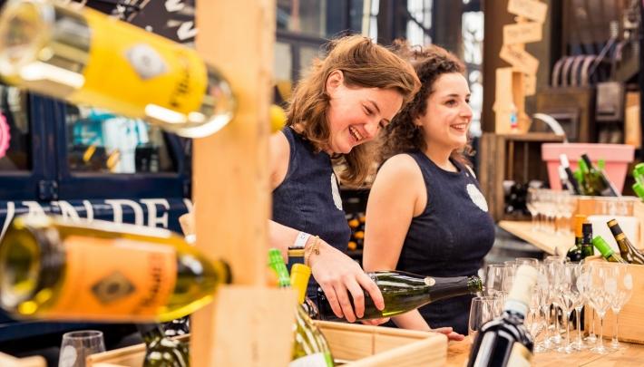 'WineFlight-bar' Amsterdam Wine Festival met Meisjes van de Wijn