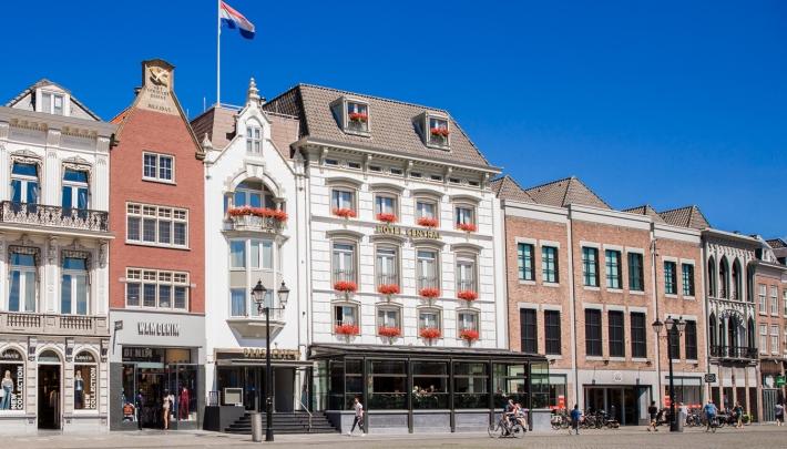 Thuis kom je bij Hotel Central in hartje 's Hertogenbosch
