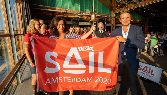 Startschot voor 10e SAIL in Amsterdam