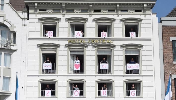 Golden Tulip Hotel Central zet zorgmedewerkers in het zonnetje