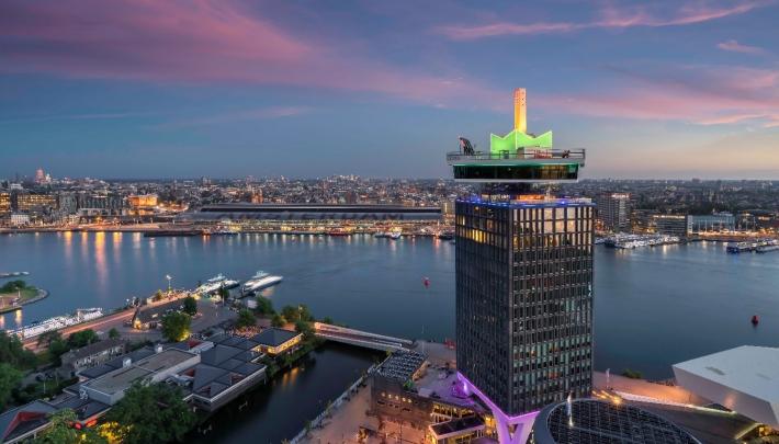 A'DAM toren centraal in programmering Pride Amsterdam