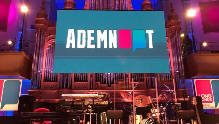 Live productie in Philharmonie Haarlem