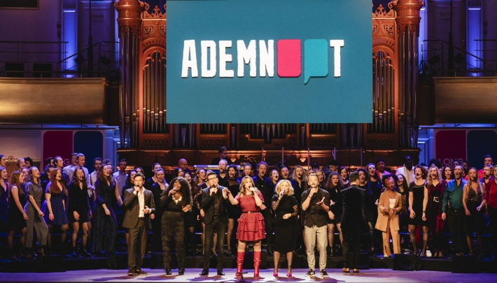 ADEMNOOT live in Philharmonie Haarlem