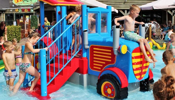Water Spraypark oplossing voor leegloop indoorspeeltuinen