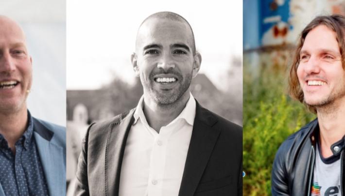 Arjan Erkel, Joseph Oubelkas en Ferry Zandvliet in power webinar