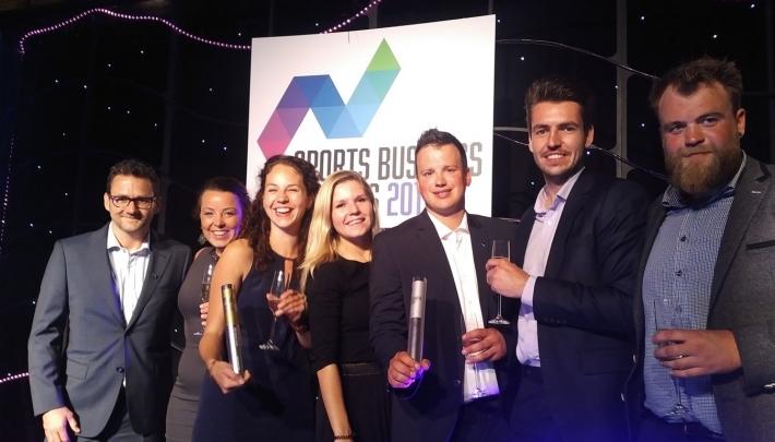 Olympisch team MTD wint Sports Business Award 2017