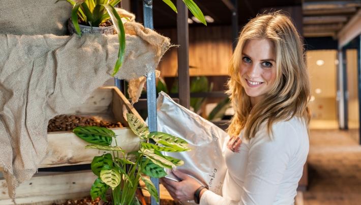 Britt won in haar eerste jaar als freelancer de FOTY Award
