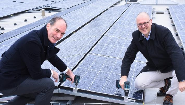 Maison van den Boer kookt groen met 2.500 zonnepanelen