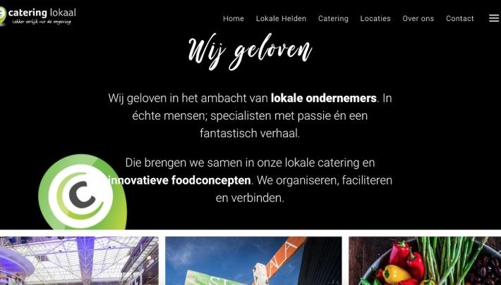 Catering Lokaal lanceert nieuwe website