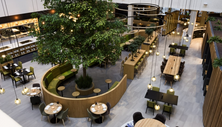 Novotel Amsterdam Schiphol Airport  en Danone gaan partnership aan