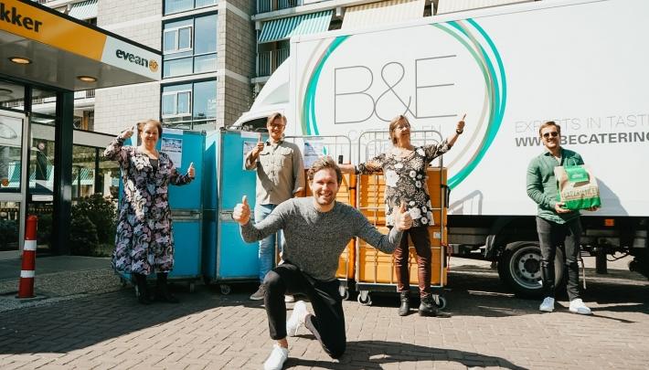B&E Catering en Events bezorgt ruim 1000 verse maaltijden voor zorgmedewerkers