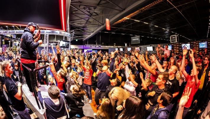 Meer dan 14.000 gamefans bij DreamHack in Rotterdam Ahoy