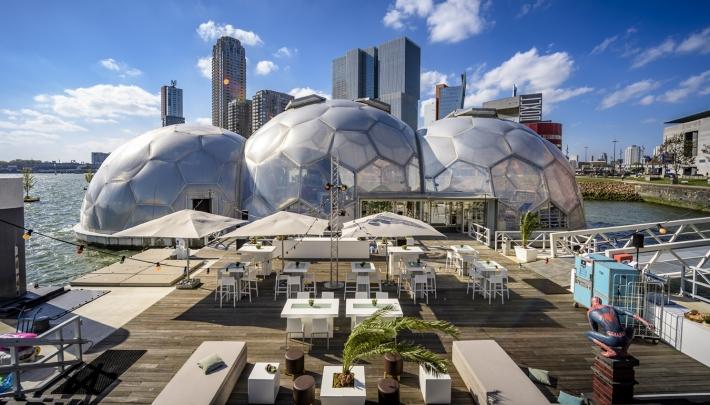 Het Drijvend Paviljoen: futuristische duurzame toplocatie in het hart van Rotterdam