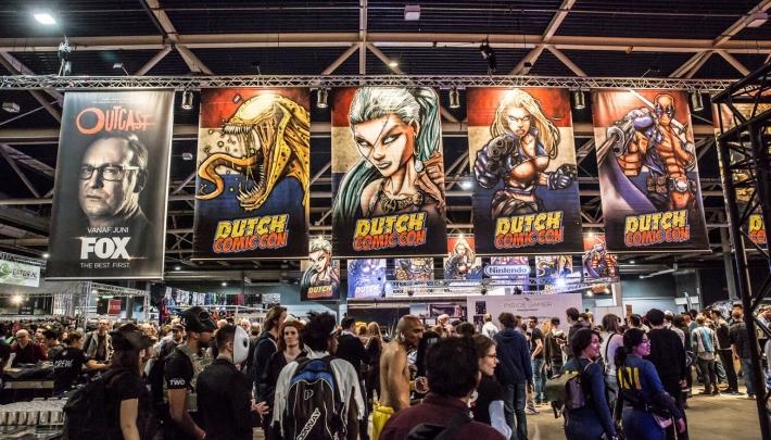 Heroes Dutch Comic Con in Jaarbeurs Utrecht verplaatst naar najaar