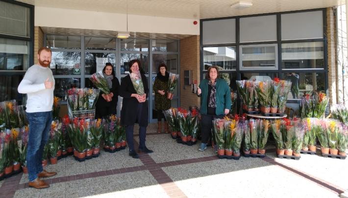 Easyfairs gaat de #FlowerBoostChallenge aan