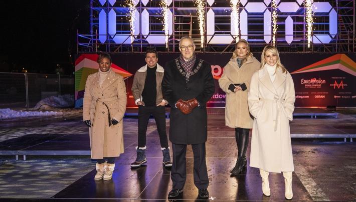 Rotterdam telt af naar Eurovisie Songfestival