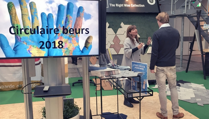 Circulaire Beurs in Fokker Terminal: 'Practise what you preach!'