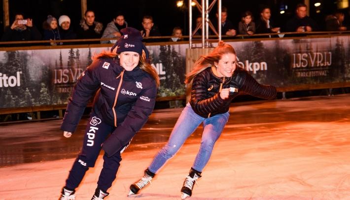 IJsvrij Park Festival onder Euromast geopend
