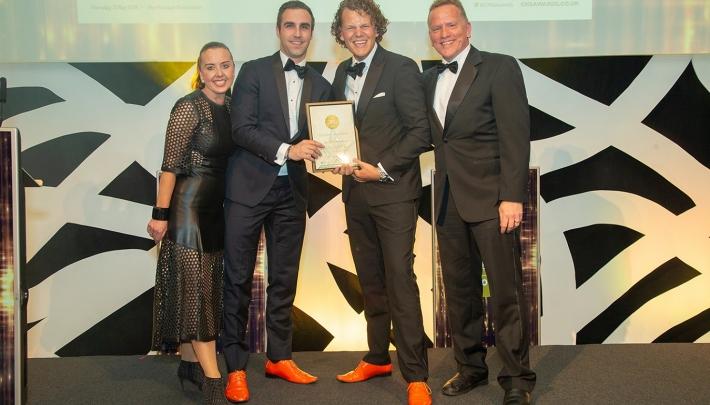 Grand Hotel Huis ter Duin wint Best International Venue Award