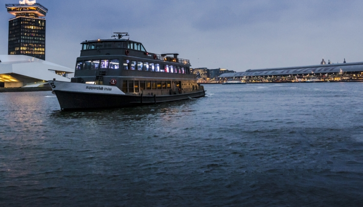 Supperclub Cruise op 't IJ