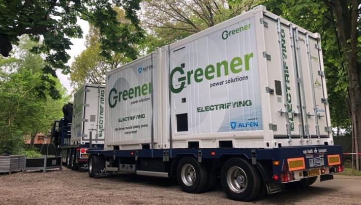 Duurzaam transport door samenwerking Van Hooft en Greener